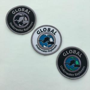 GUE Logo Patches in 3 Farben