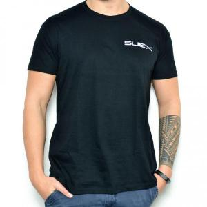 SUEX T-SHIRT BLACK/WHITE