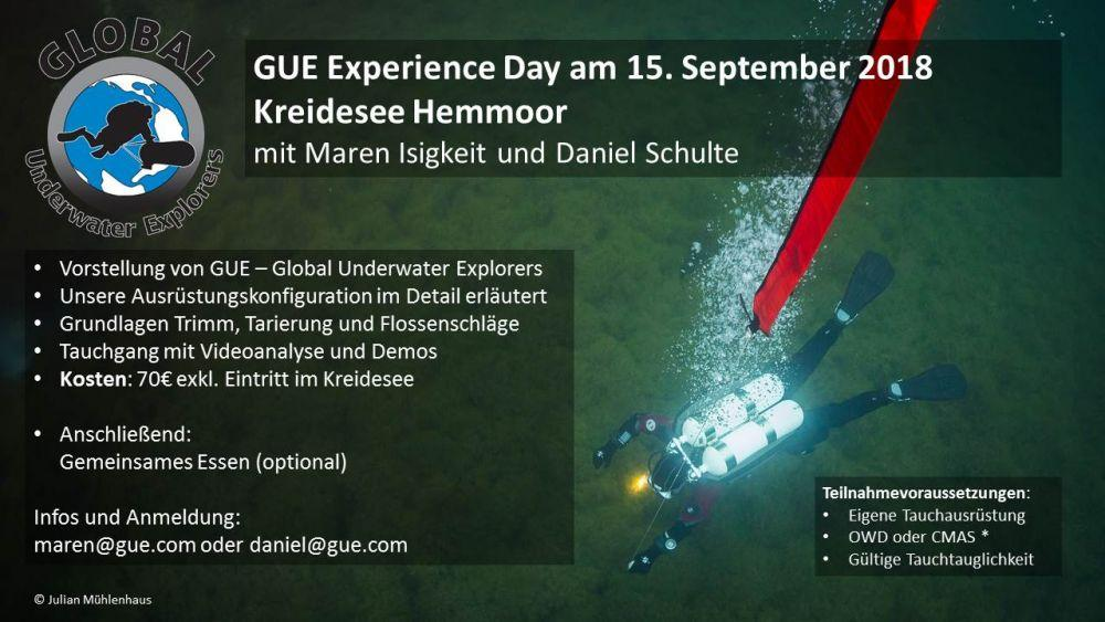 GUE Experience Day